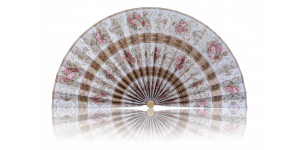 L480 Pleated Decorative Fan