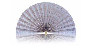 L483 Pleated Decorative Fan