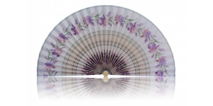 L484 Pleated Decorative Fan