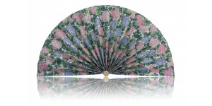 L485 Pleated Decorative Fan