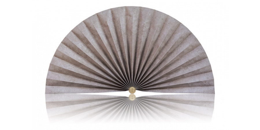 L487 Pleated Decorative Fan