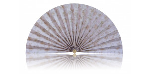 L489 Pleated Decorative Fan