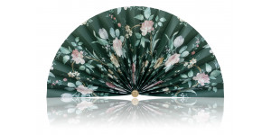 L497 Pleated Decorative Fan