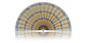 L498 Pleated Decorative Fan