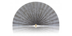 L499 Pleated Decorative Fan