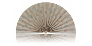 L505 Pleated Decorative Fan